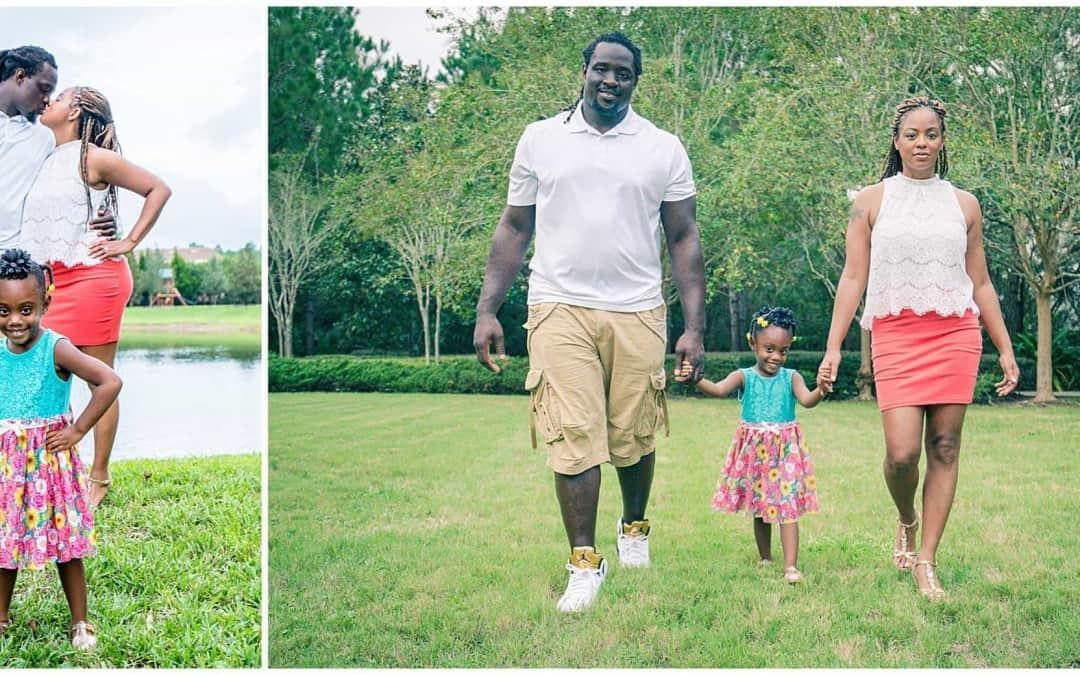Family Photography Session with Sen'Derrick Marks' \\ Jacksonville Family Photographer