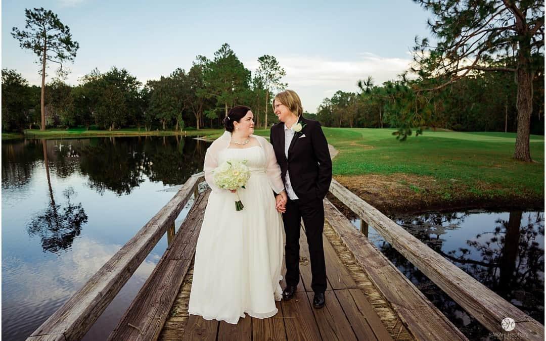 Priscilla and Lesley's Deer Creek Country Club Wedding