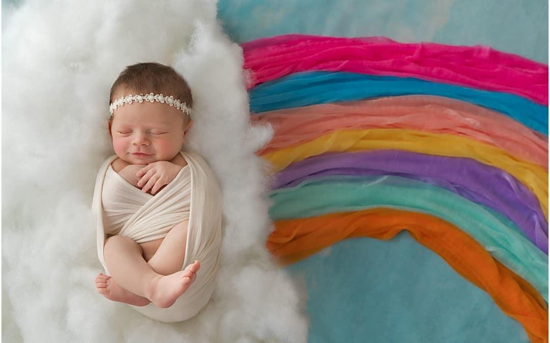 Welcome Baby Myla, A Beautiful Rainbow Baby