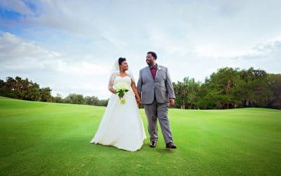April and Douglas' Golden Ocala Wedding