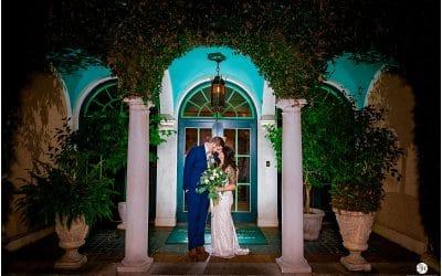Caitlin and Sebastian's Club Continental Wedding