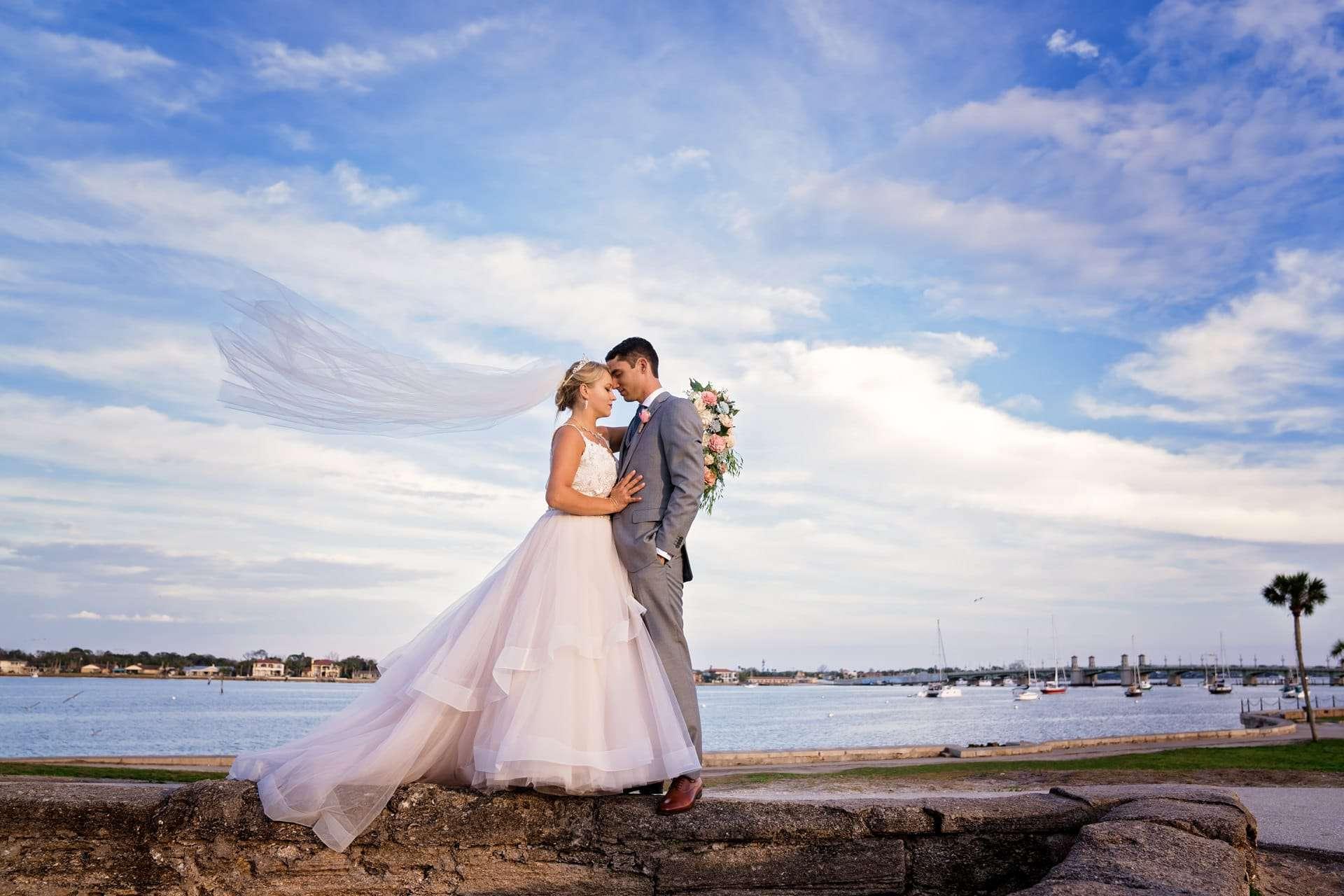 Alexis and Evan's White Room Wedding