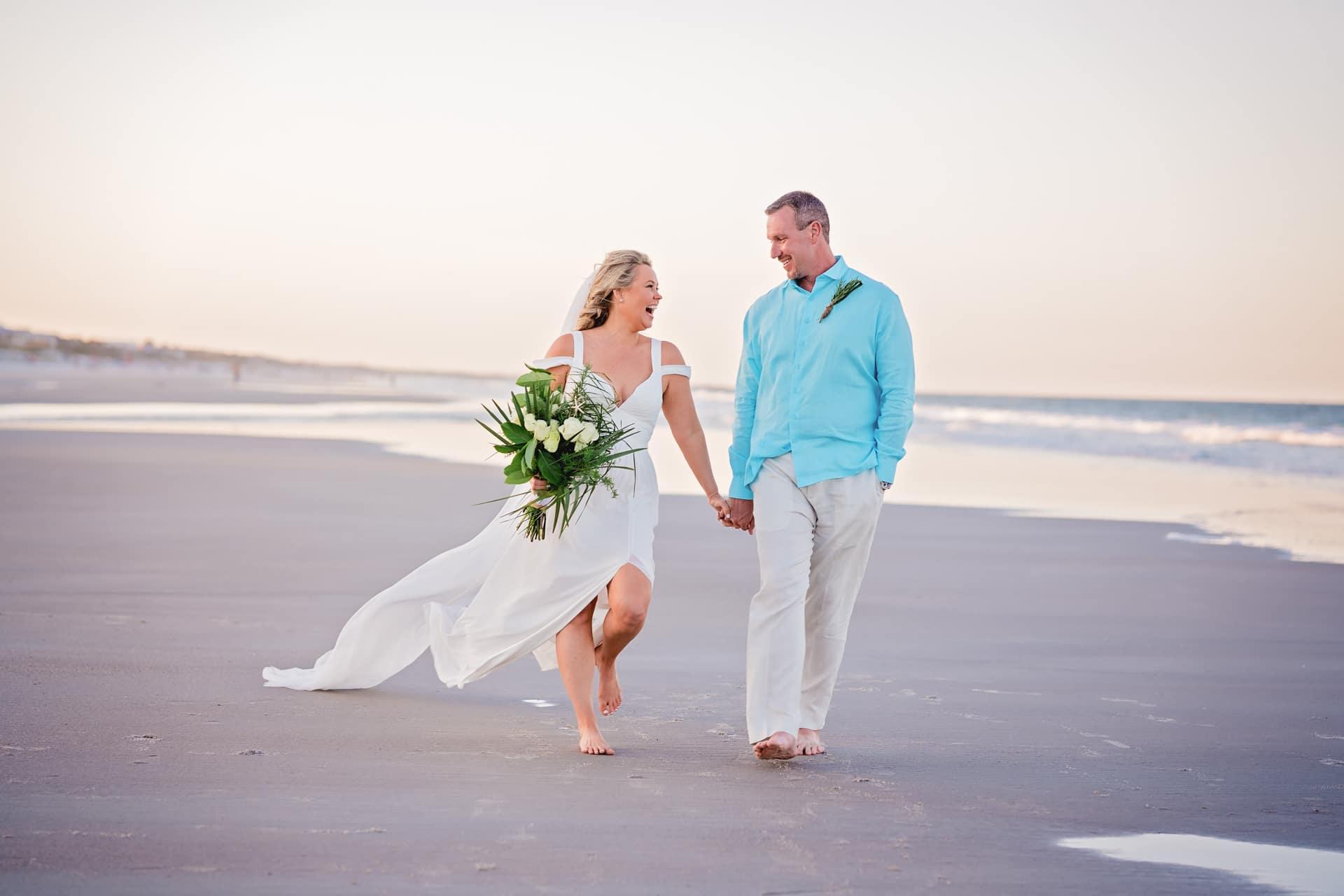 Danielle and Bradley's Wedding on Jacksonville Beach