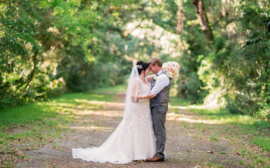 Tonya and Jon's Washington Oaks State Park Wedding