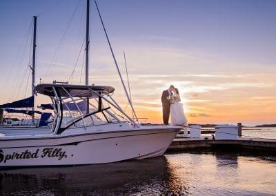 Jessica and Logan's Oyster Bay Yacht Club Wedding