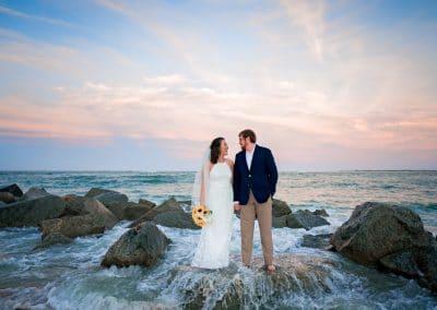 Devin and Caleb's St. Augustine Beach Wedding