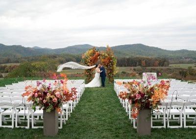 Ari and Ryan's Pippin Hill Farms Wedding