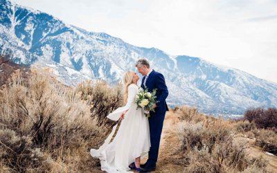 Heather and Jelmer's Utah Wedding