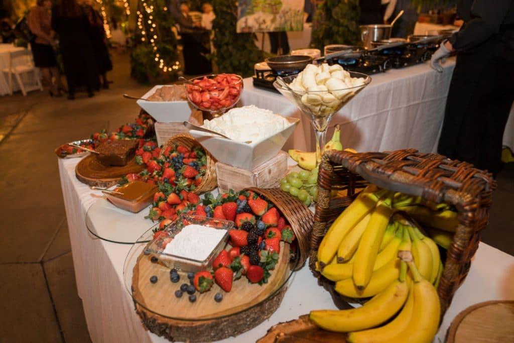 Food detail shots at Heather and Jelmer's Utah Wedding