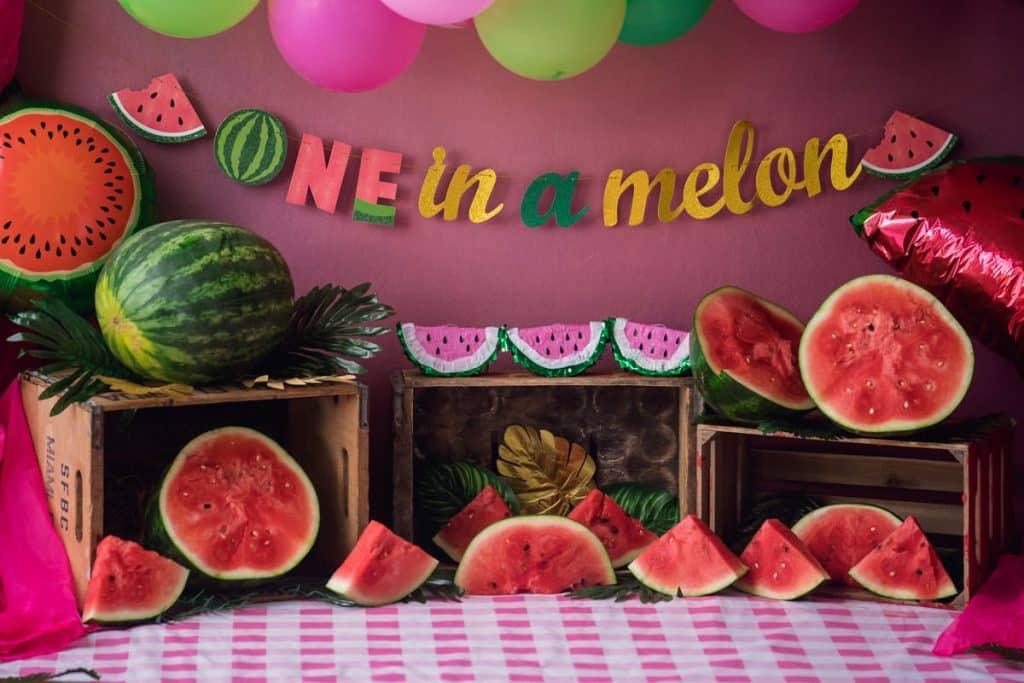 Watermelon cake smash for kid turnig one
